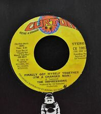 The Impressions Curtom 1997 I'll Always Be Here M- in company sleeve