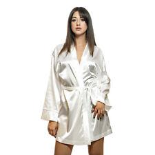 Vestaglia Kimono in raso Elegant di Morbidissimi Avorio Z025