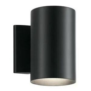 Kichler Lighting 9234BK Independence 1 Light 7 inch Black Outdoor Wall, Small