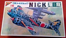 Nichimo JAPANESE KAWASAKI KI-45 KAI NICK 1/48 #S-4819 TWO-SEAT FIGHTER MODEL