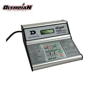 Daktronics All Sport 1600 Series Sports Scoreboard Control Console Baseball +