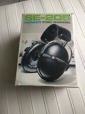 PIONEER SE205 headphones Kopfhörer Mint condition