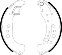 Mintex Rear Brake Shoe Set MFR734  - BRAND NEW - GENUINE - 5 YEAR WARRANTY