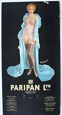 Original Early 20th century Paripan Glamour showcard, calendar. Art Deco. (b)