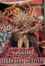 Konami Yu-Gi-Oh! Legendary Duelists Rage of Ra 1st ed. Booster single & playsets
