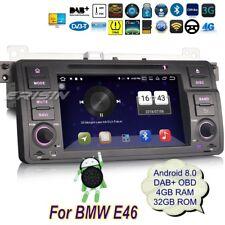 BMW E46 Car DVD Navi Android 8.0 DAB+ 3er M3 MG ZT Rover 75 DVB-T 3G DVR 7346GBP