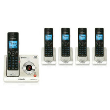 Vtech LS6426-5 HD Audio Blue Backlit LCD Display 5 Handset Cordless Phone New