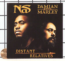 NEW NAS DAMIAN MARLEY DISTANT RELATIVES STICKER DECAL