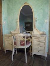 Fesselnd Schlafzimmer Komplett Set Antik Alt Schrank Bett Kommode Stuhl   Versand  Möglich