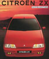 Citroen ZX Prospekt 1991 7/91 brochure prospetto prospectus brosjyre broschyr