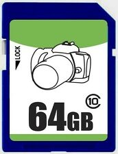 OEM 64GB SD 64G SDXC class10 C10 SD 2.0/3.0 secure digital memory card bulk