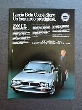 [GCG] H359 - Advertising Pubblicità -1982-  LANCIA BETA COUPE' 2000 i.e.