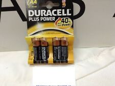 BATTERIE ALCALINE Duracell plus power 4pz aa lrg mini 500 cod. 32749  20 pezzi