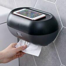 Wall Mount Tissue Box Toilet Paper Roll Storage Rack Waterproof Napkin Dispenser