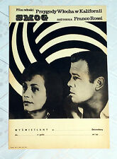 ** SMOG ** 1SH Original Polish Poster Franco Rossi Annie Girardot