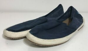 Toms Men's Slip On Loafers Navy Blue Color - Size 11M