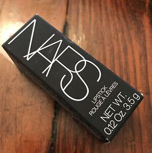 NARS Lipstick Shade Miramar 2925  (Satin) 3.5g NIB