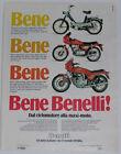 Advert Pubblicità 1980 BENELLI 900 SEI / 125 SPORT / G2
