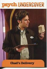 Psych Seasons 1-4 Undercover Chase Card U03 Chad?s Delivery