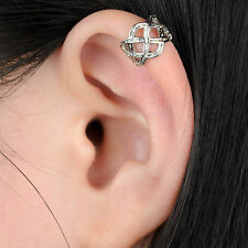 Womens Punk Rock Hollow Celtic Knot Wrap ear cuff No piercing Earring wholesale