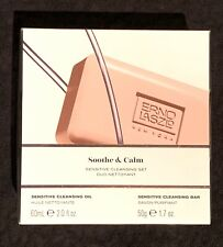 Erno Laszlo Soothe & Calm Sensitive Cleansing Set Calming Oil & Facial Bar, NIB