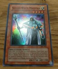 YUGIOH SKILLED WHITE MAGICIAN SUPER RARE NEAR MINT MFC-064