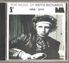 "ROLLING STONES Keith Richards ""The Music Of 1988-2010"" Acetate Promo CD"