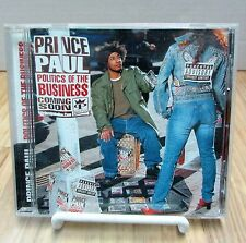 Prince Paul Politics Of The Business Dave Chappelle Guru Planet Asia Chuck D CD