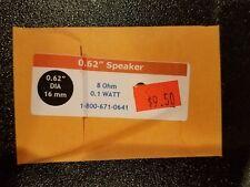 """QSI 0.62"""" SPEAKER 8 OHM 0.1 WATT NEW"""