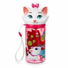 Disney Authentic Marie Flip-Top Water Bottle 11oz Aristocats Furrytale Friends