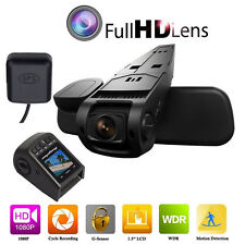 1080p HD H.264 Video Sony IMX Lens Car Dash Cam DV GPS Logger Driving Recorder