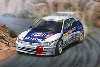 Kit para montar 1/24 Peugeot 306 Maxi Rally Montecarlo 1996 Nunu Model Kit