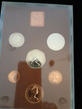 1974 coinage of Great Britain and Northern Ireland . Royal Mint 7 Coin Proof.