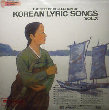 LP KOREAN LYRIC SONGS - the best of collection of vol. 3new - original packaging