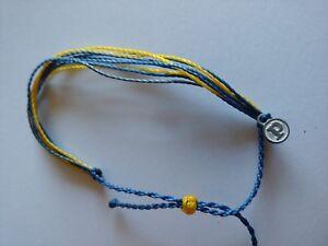 Classic Pura Vida Bracelet, Never Used, Perfect Condition: Yellow, Black, Blue
