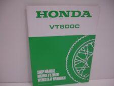 Supplément au manuel Atelier Honda VT600C 1996  Francais Deutsch English