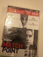DVD  MATCH POIN DE WOODY ALLEN )(nueva precintada)