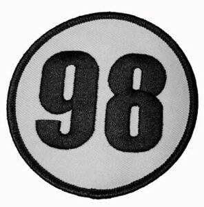 """Patch - Shelby 98 Circle 3"""" * For Cobra, Mustang, SuperSnake Fans FREE US SHIP!"""