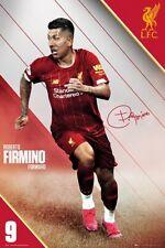 ROBERTO FIRMINO - 2020 LIVERPOOL POSTER 24x36 - SOCCER FOOTBALL 34381