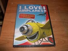 I Love Airplanes! Join Mati On An Exciting Journey (DVD, 2010) Kids Cartoon NEW
