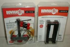 "New Bowmaster Portable Bow Press And Standard 3/4"" L-Brackets Sealed Package"