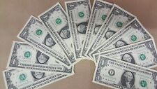 $1 Dollar Frn Serial Number F2270* To F2279* Collection 2013 (Lot of 10 bills)
