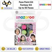 Snazaroo Children's Face Paint Make Up Kits Fantasy Kit Up to 50 Faces