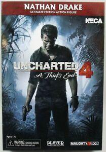 "Uncharted 4 - Nathan Drake ""Ultimate Edition"" - Figurine Player Select NECA"
