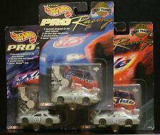 3 TEAM HOT WHEELS RACING PRO 1998 TEST TRACK 99 EXIDE 10 TIDE 43 STP GRAY EAGLE