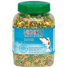 Nishikoi Pond Multi Sticks 415g Koi Goldfish Pond Food