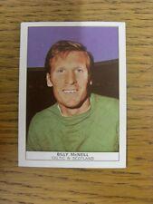 1970 Trade Card: Footballers) Celtic - Billy McNeill [Naisco Foods LTD Card No.1