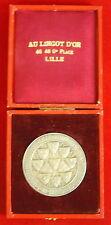 """Medalla """"el lingote de oro"""" Asociación cantonal de delegados Lille bronce Medal"""