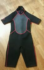New listing Dbx Youth Shorty Spring Neoprene Wetsuit Stretch Warm Suit 3/2mm Sz M/Medium
