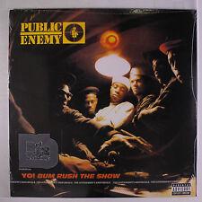 PUBLIC ENEMY: Yo Bum Rush The Show LP Sealed (reissue) Rap/Hip-Hop
